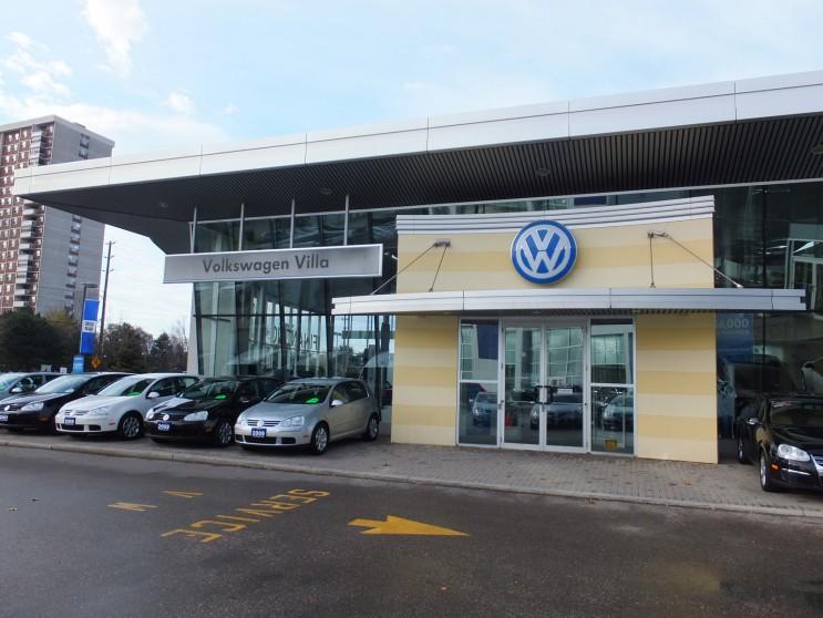 Volkswagen Villa Northway Construction